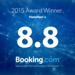 Award from Booking.com 31-December-2015